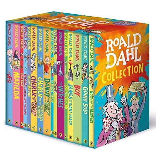 Roald Dahl Complete Collection Box Set (promoție în limita stocului disponibil)