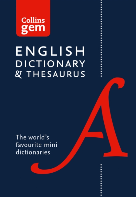 Collins English Gem Dictionary and Thesaurus