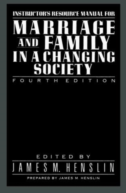 Marriage Family Changing Socie