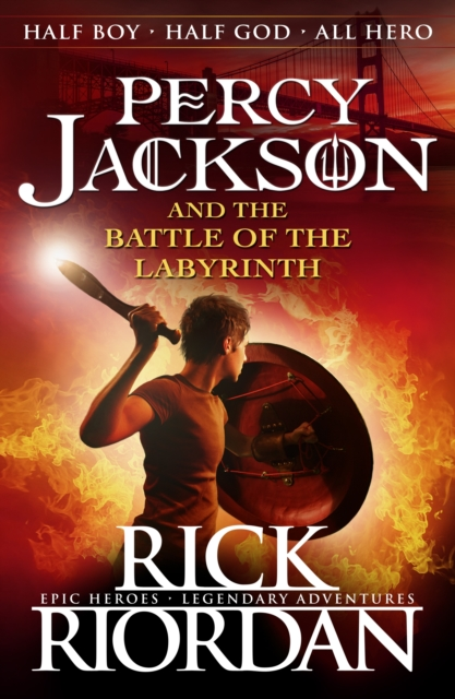 Percy Jackson and the Battle of the Labyrinth (Book 4)