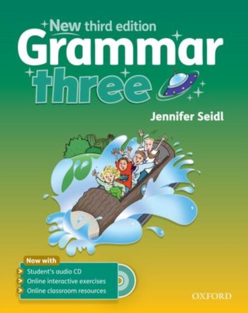 Grammar: Three: Student's Book with Audio CD