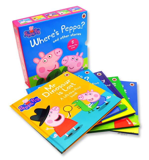 Peppa Pig: Lift the Flap Collection