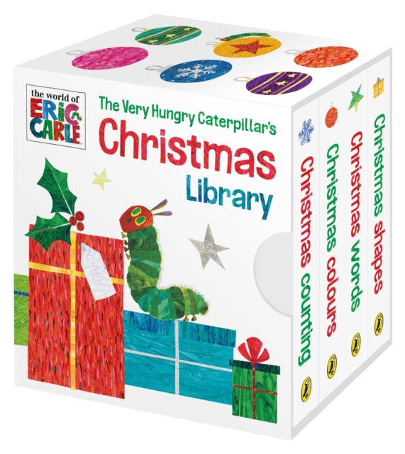 Very Hungry Caterpillar's Christmas Library