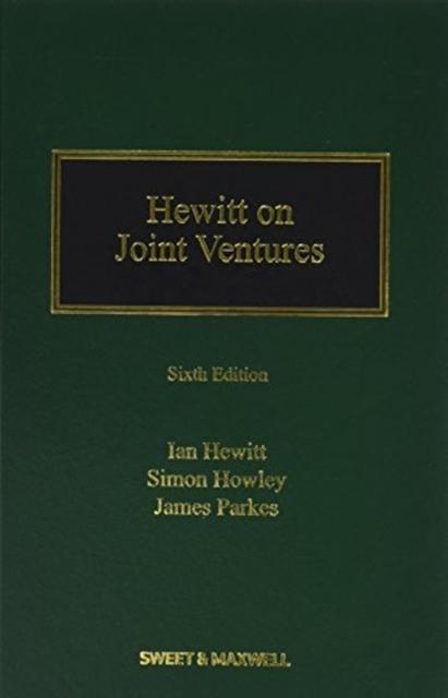 Hewitt on Joint Ventures