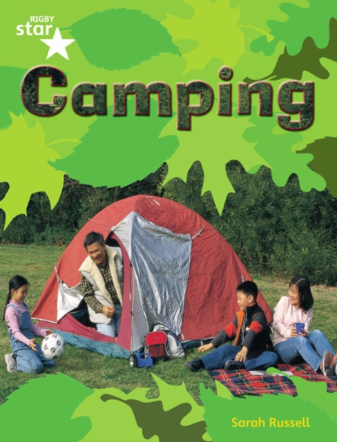 Rigby Star Guided Quest Green: Camping Pupil Book (Single)
