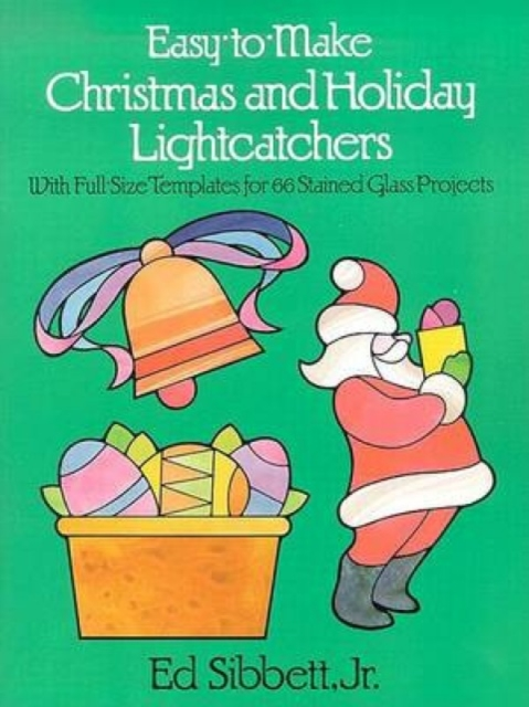 Easy to Make Christmas and Holiday Light Catchers