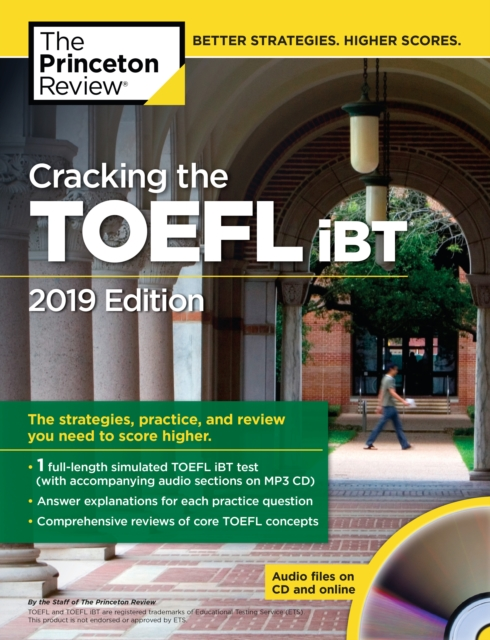 Cracking the TOEFL iBT with Audio CD, 2019 Edition