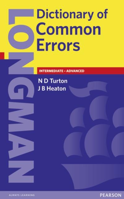 Longman Dictionary of Common Errors New Edition