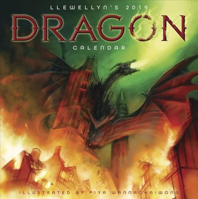 Llewellyn's 2019 Dragon Calendar