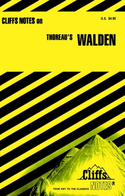CliffsNotes on Thoreau's Walden