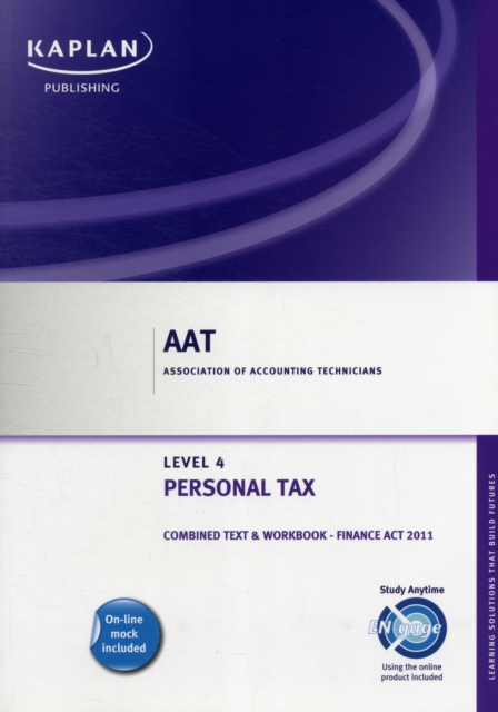 Personal Tax (FA 2011) - Combined Text and Workbook