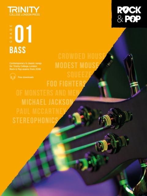 Trinity College London Rock & Pop 2018 Bass Grade 1 CD Only