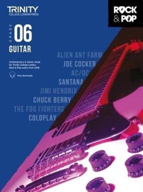 Trinity College London Rock & Pop 2018 Guitar Grade 6