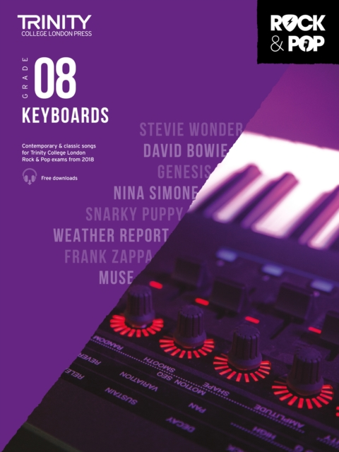 Trinity College London Rock & Pop 2018 Keyboards Grade 8 CD Only