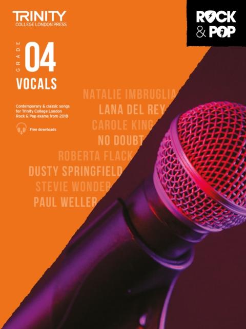 Trinity College London Rock & Pop 2018 Vocals Grade 4
