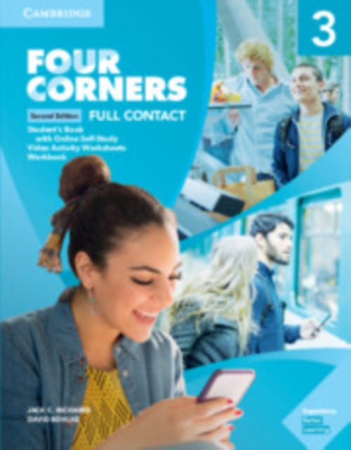 Four Corners Level 3 Full Contact with Online Self-study