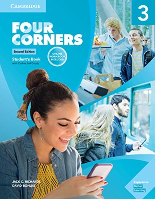 Four Corners Level 3 Student's Book with Online Self-study and Online Workbook
