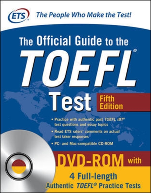 Official Guide to the TOEFL Test with DVD-ROM, Fifth Edition