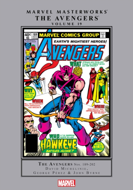 Marvel Masterworks: The Avengers Vol. 19