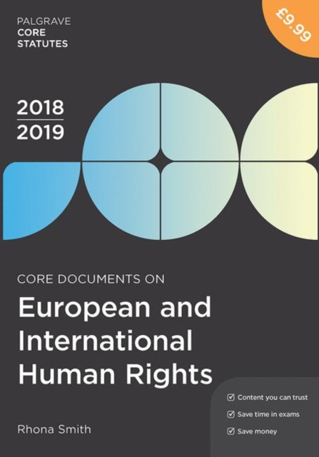 Core Documents on European and International Human Rights 2018-19
