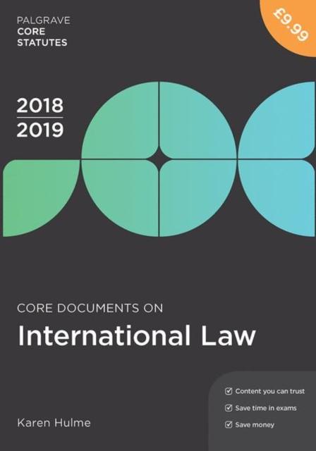 Core Documents on International Law 2018-19