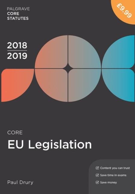 Core EU Legislation 2018-19