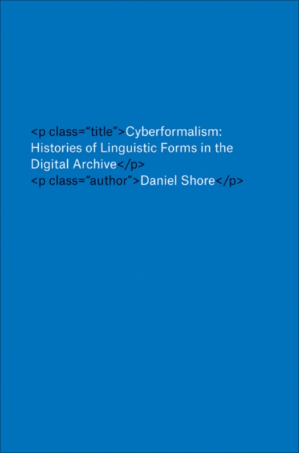 Cyberformalism