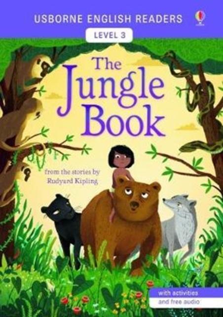Usborne English Readers Level 3: The Jungle Book