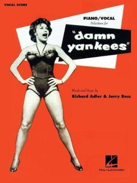 ADLER RICHARD/ROSS JERRY DAMN YANKEES PIANO/VOCAL SELECTIONS BOOK
