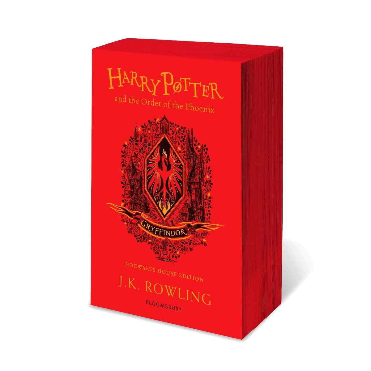 Harry Potter and the Order of the Phoenix - Gryffindor House Edition Paperback