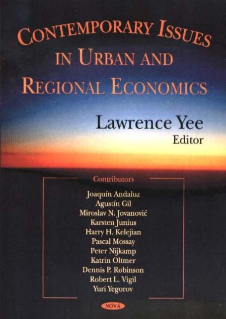 Contemporary Issues in Urban & Regional Economics