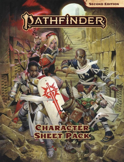 Pathfinder Character Sheet Pack (P2)