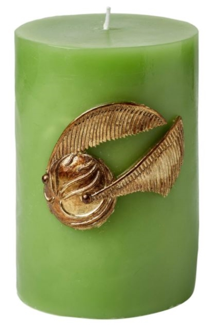 Harry Potter Golden Snitch Sculpted Insignia Candle