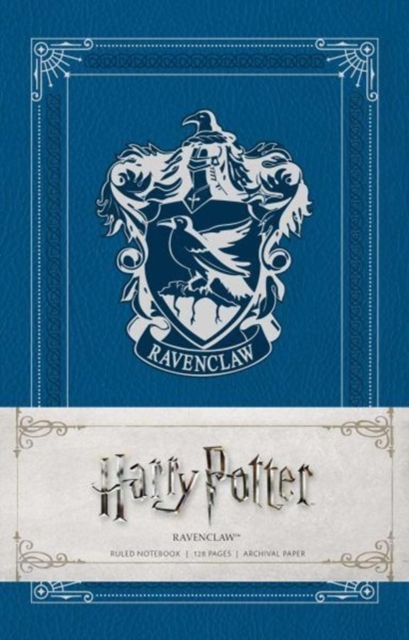 Harry Potter: Ravenclaw Ruled Notebook