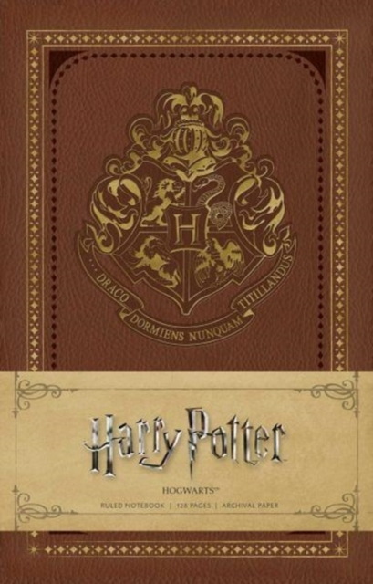 Harry Potter: Hogwarts Ruled Notebook