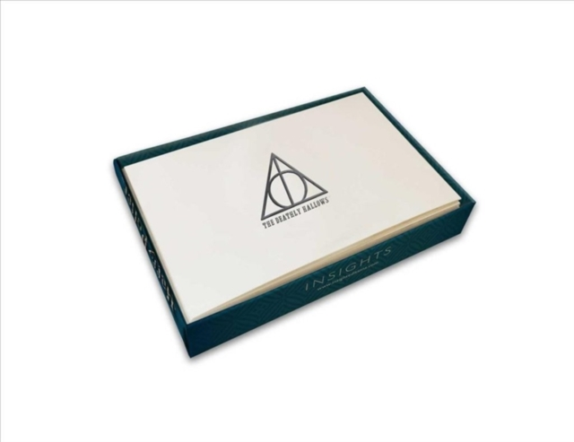 Harry Potter: Deathly Hallows Foil Note Cards