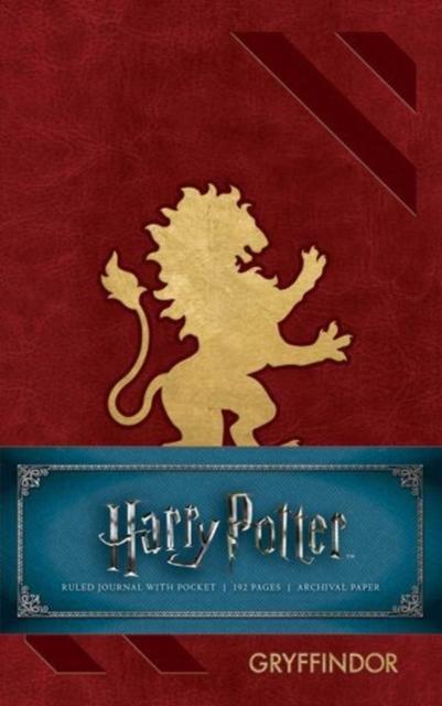 Harry Potter: Gryffindor Ruled Pocket Journal