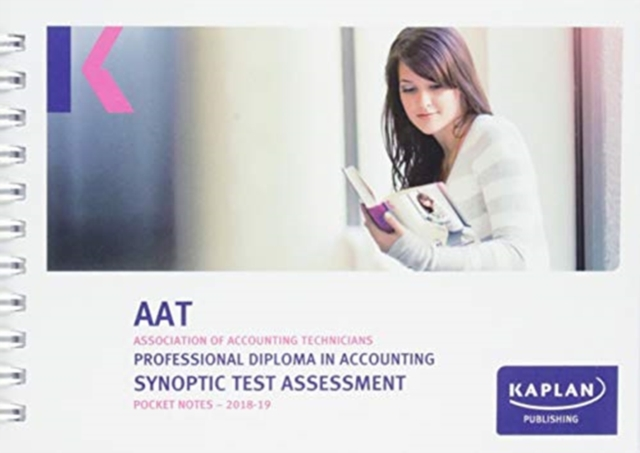 PROFESSIONAL DIPLOMA IN ACCOUNTING SYNOPTIC TEST ASSESSMENT - POCKET NOTES
