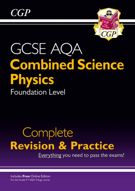 New 9-1 GCSE Combined Science: Physics AQA Foundation Complete Revision & Practice with Online Edn
