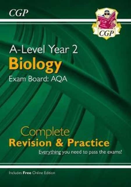 New A-Level Biology: AQA Year 2 Complete Revision & Practice with Online Edition