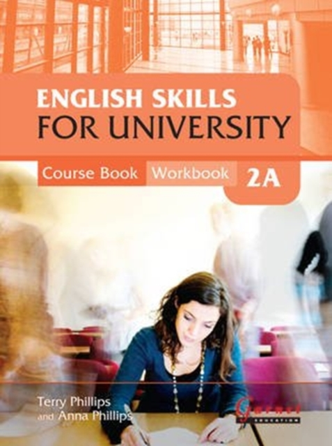 English Skills for University 2A Combined Course Book & Workbook with CDs