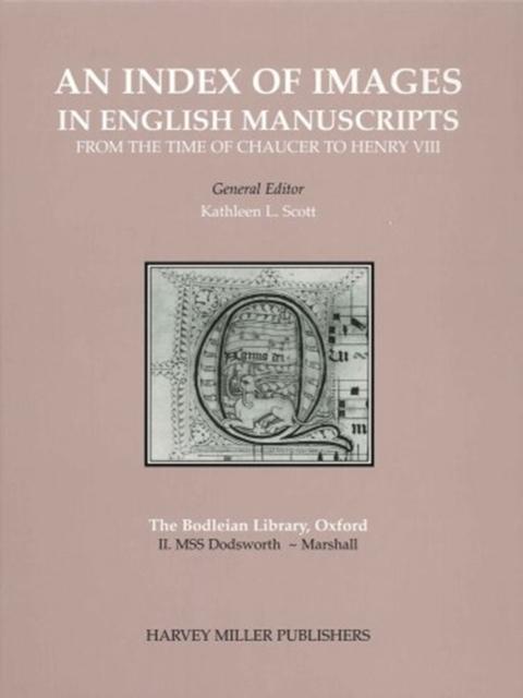 Index of Images: English Manuscripts