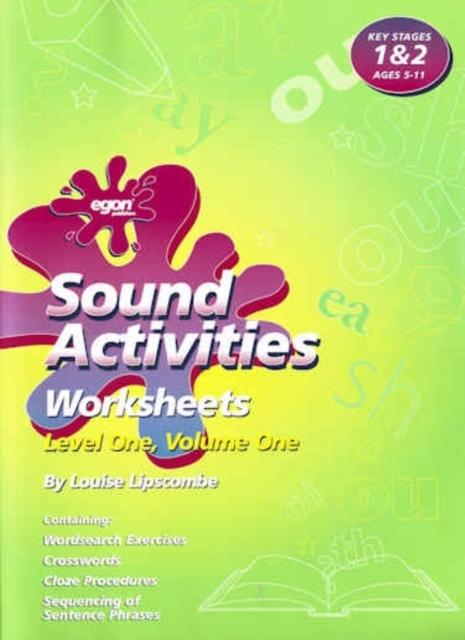 Sounds Activities : Worksheets Level 1 v. 1