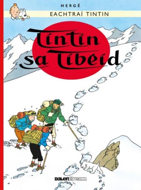 Tintin: Tintin Sa Tibeid (Irish)
