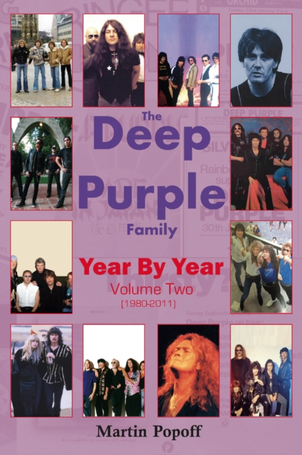 Deep Purple Family Year By Year:
