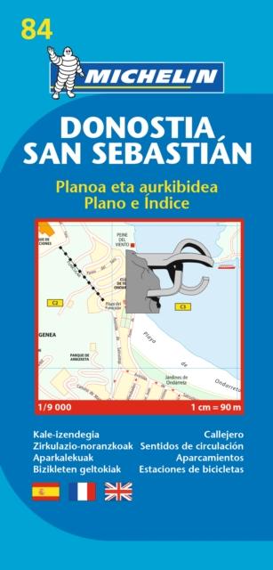 San Sebastian - Michelin City Plan 84