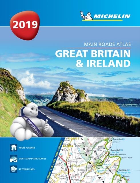 Great Britain & Ireland 2019 -Tourist & Motoring Atlas A4 Paperback