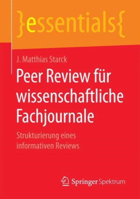Peer Review fur wissenschaftliche Fachjournale