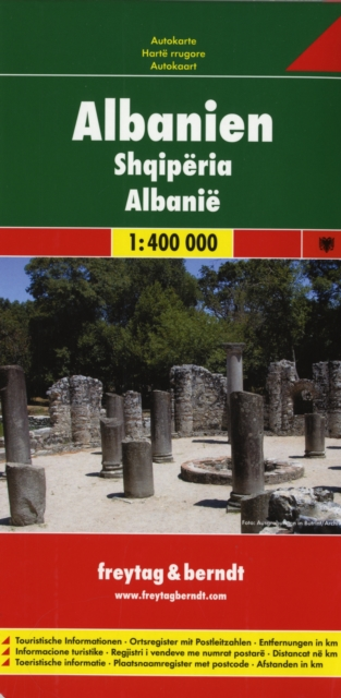 Albania Road Map 1:400 000