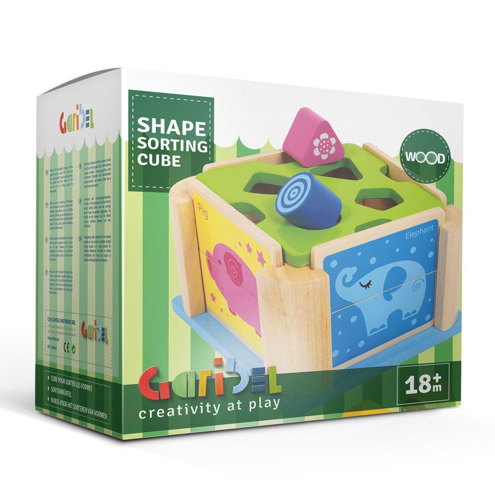 Cub pentru sortarea formelor